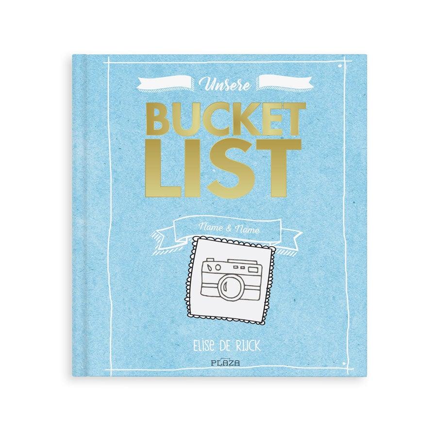Das Bucket List Buch für Freunde - Hardcover