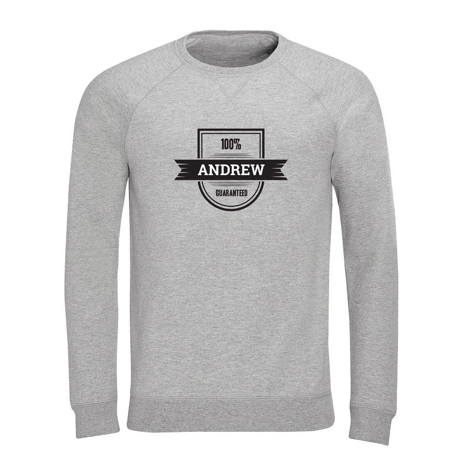 Sweatshirt - Men - Grey - S