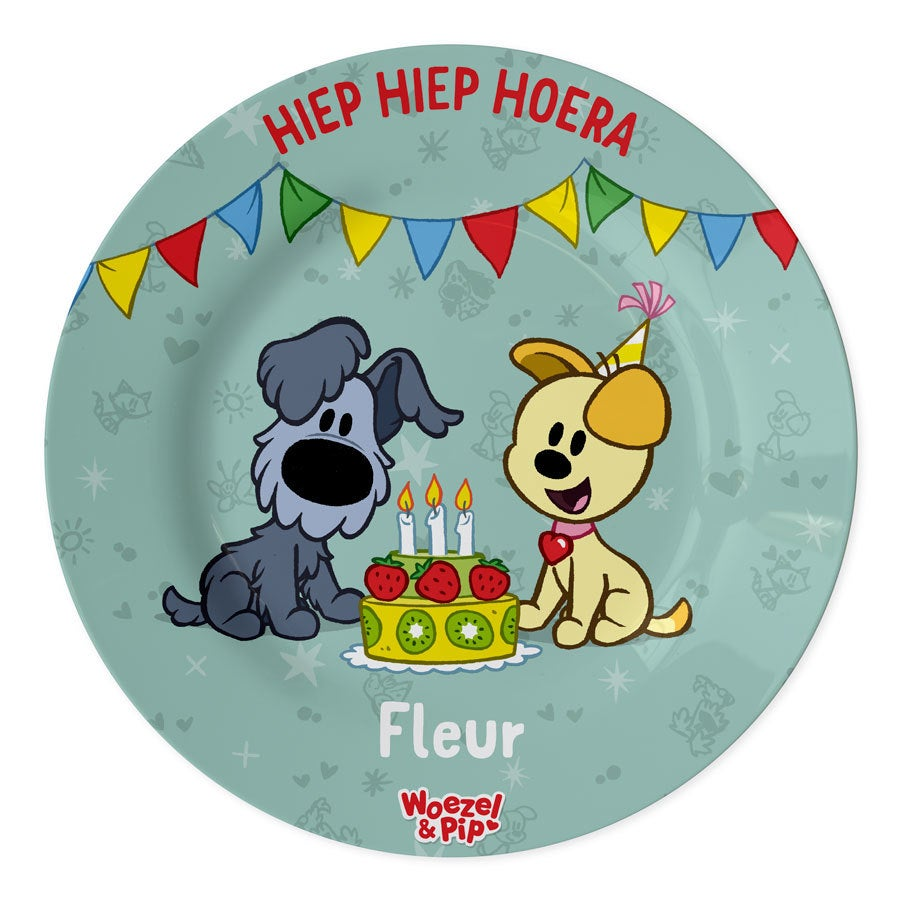 Woezel & Pip verjaardagsbordje