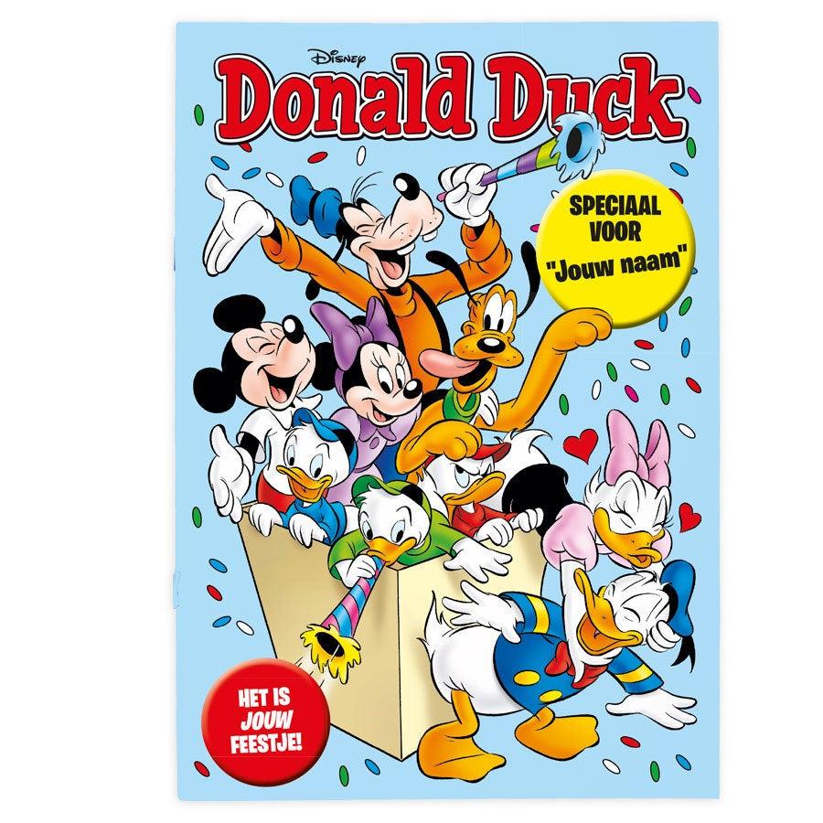 Tijdschrift met naam - Donald Duck - Feest