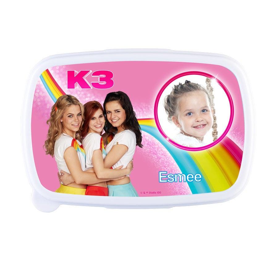 K3 broodtrommel - Roze