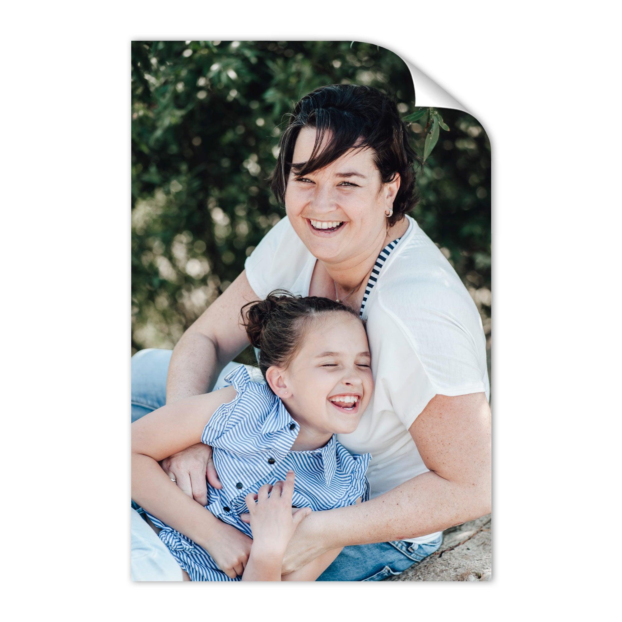 Äiti & minä kuvakollaasi - 50 x 75 cm