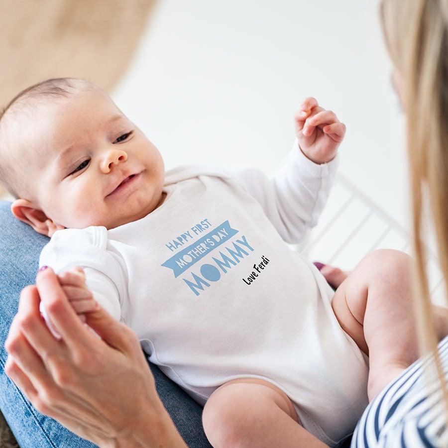 - Baby Body erster Muttertag weiß 50 56 - Onlineshop YourSurprise