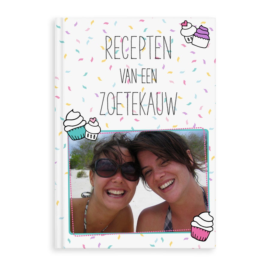 Receptenboek bedrukken - A4 - Hardcover