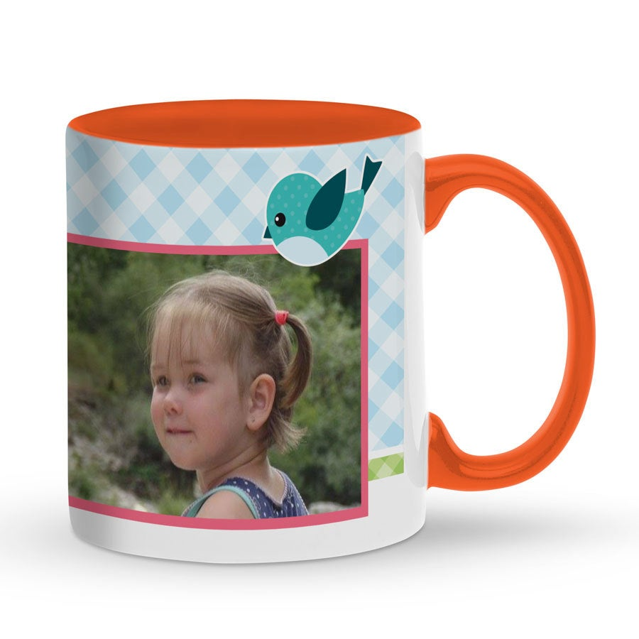 Taza con foto - Naranja