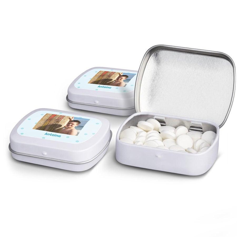 Boîtes de pastilles à la menthe - lot de 10
