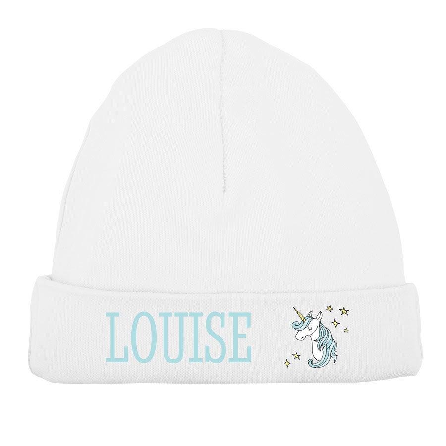 Bonnet naissance - Blanc