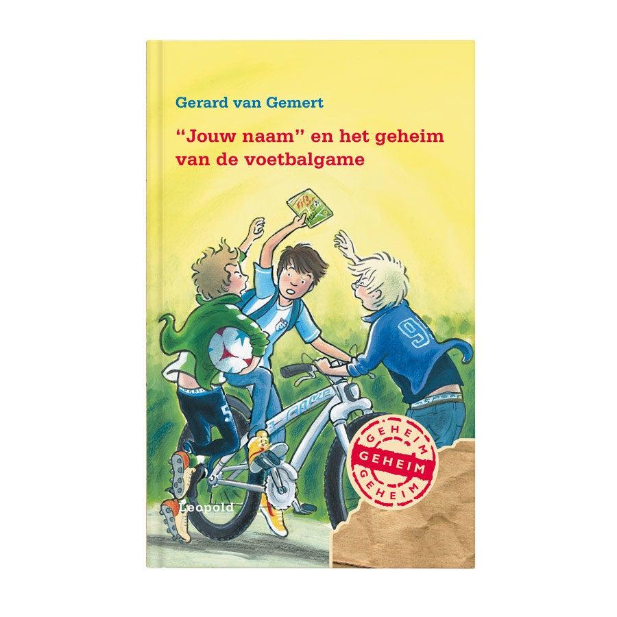 Boek met naam - Geheim van de voetbalgame - Hardcover