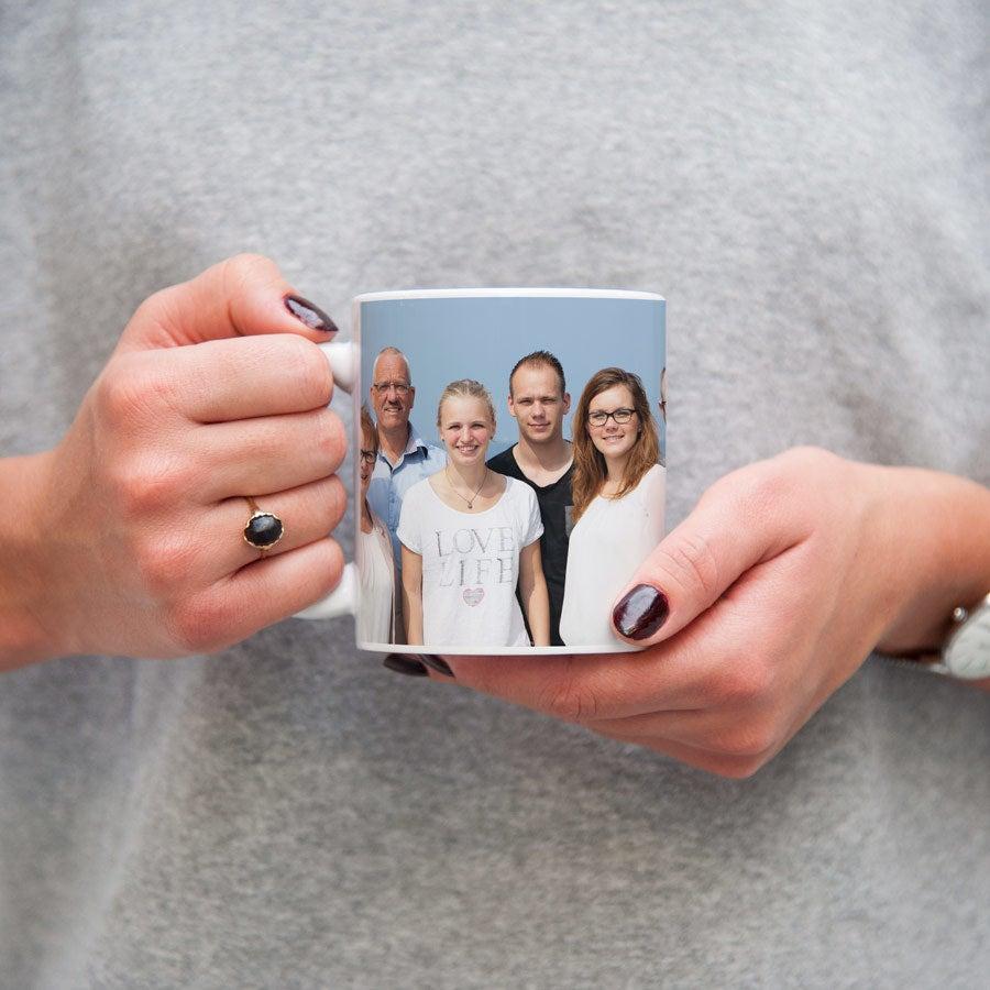 Krus med billede - Hvid