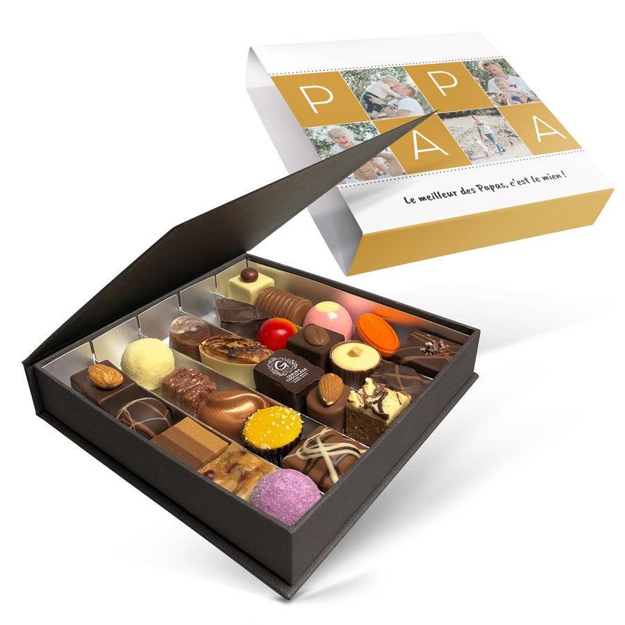 Boîte de chocolats - Fête des Pères - 25  pièces
