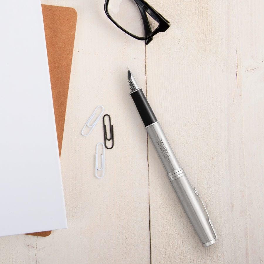 Parker - Sonnet - Füller - Rechtshänder (Silberfarben)