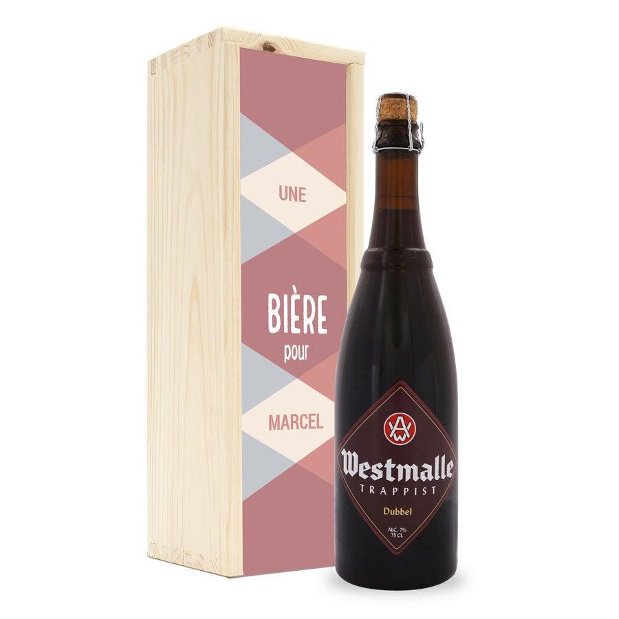 Bière - Westmalle Double - Coffret personnalisé