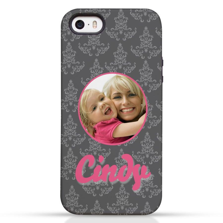 Telefoonhoesje - iPhone 5/5s - Tough case