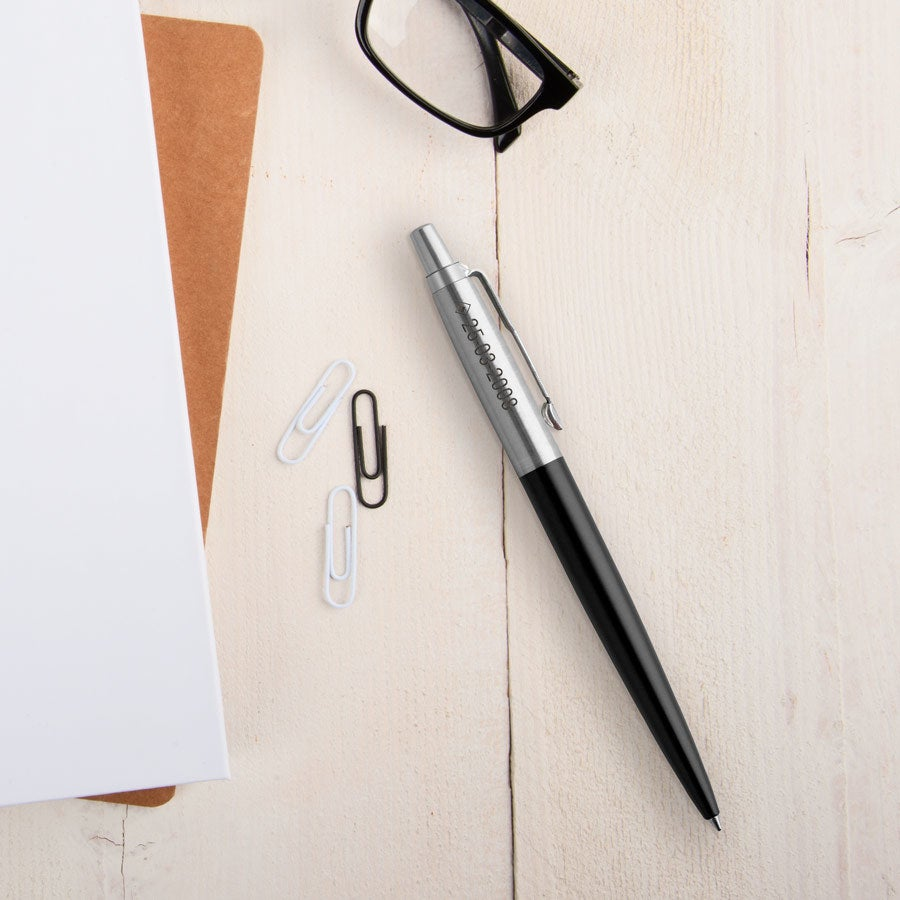 Individuellbesonders - Parker Jotter Kugelschreiber Linkshänder (Schwarz) - Onlineshop YourSurprise