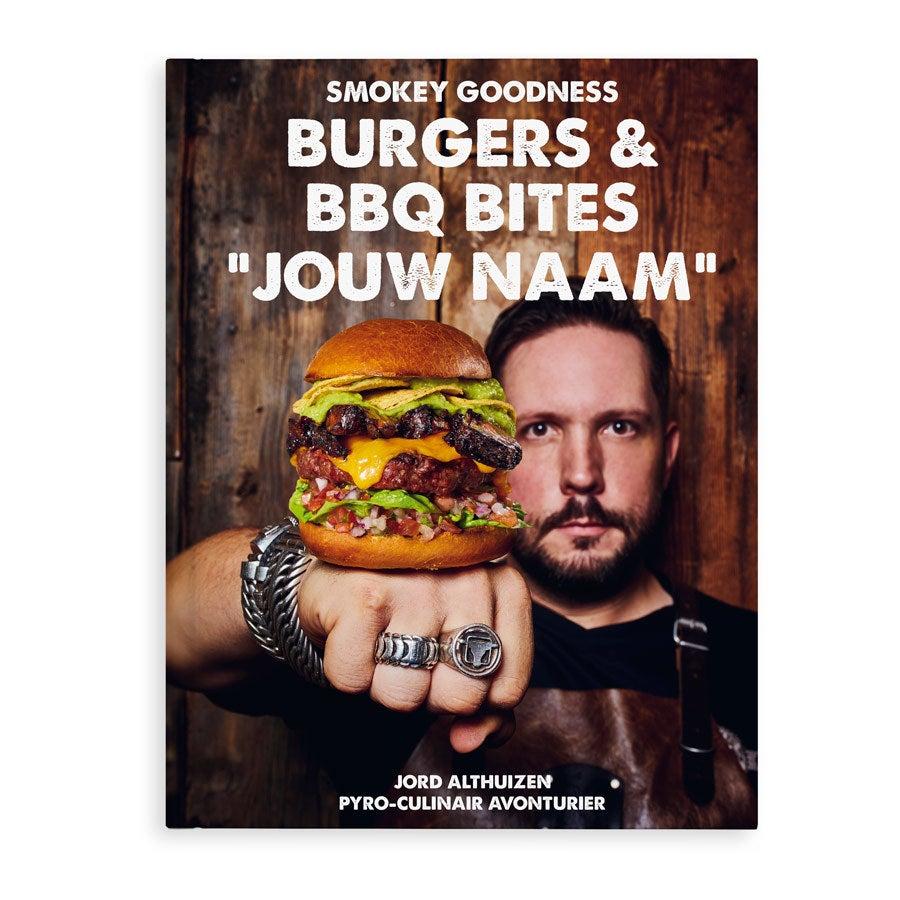 Boek met naam - Burgers & BBQ Bites kookboek - Hardcover