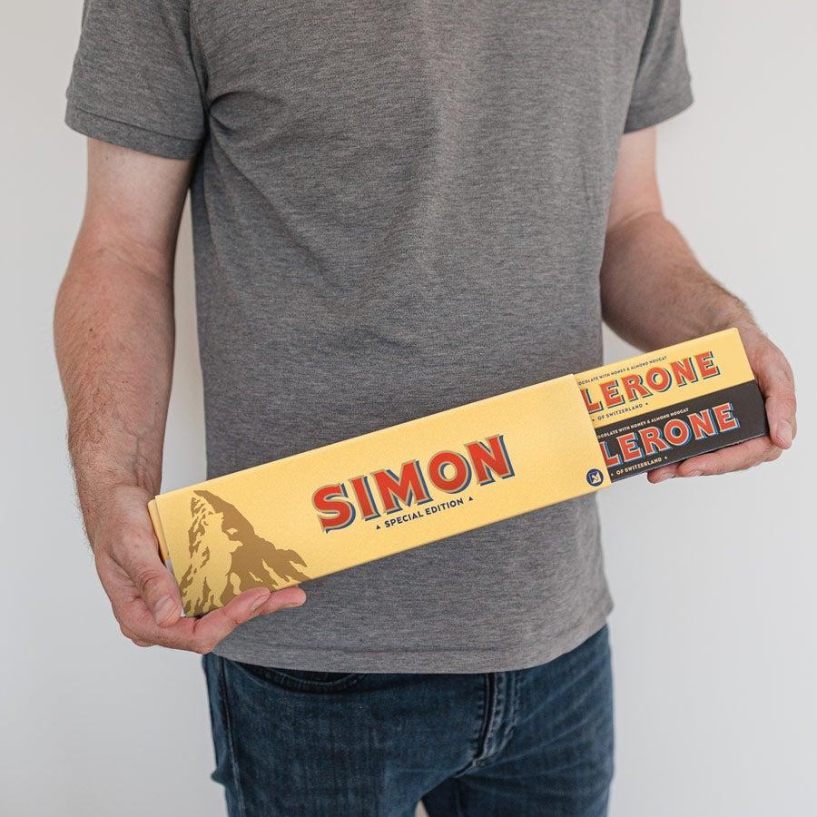 XL Toblerone Selection reep met naam en foto bedrukken - Zakelijk