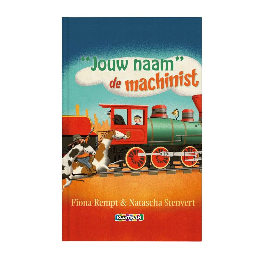 Boek met naam - Daan de machinist (Hardcover)