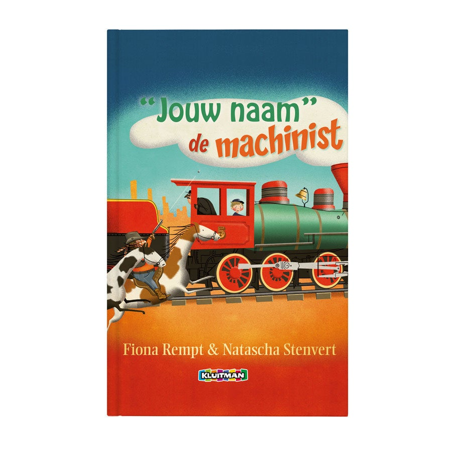Daan de machinist - Hardcover