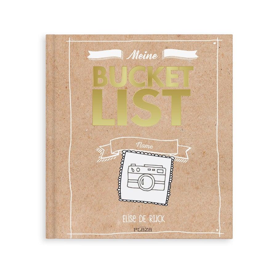 Individuellmedien - Das Bucket List Buch Softcover - Onlineshop YourSurprise