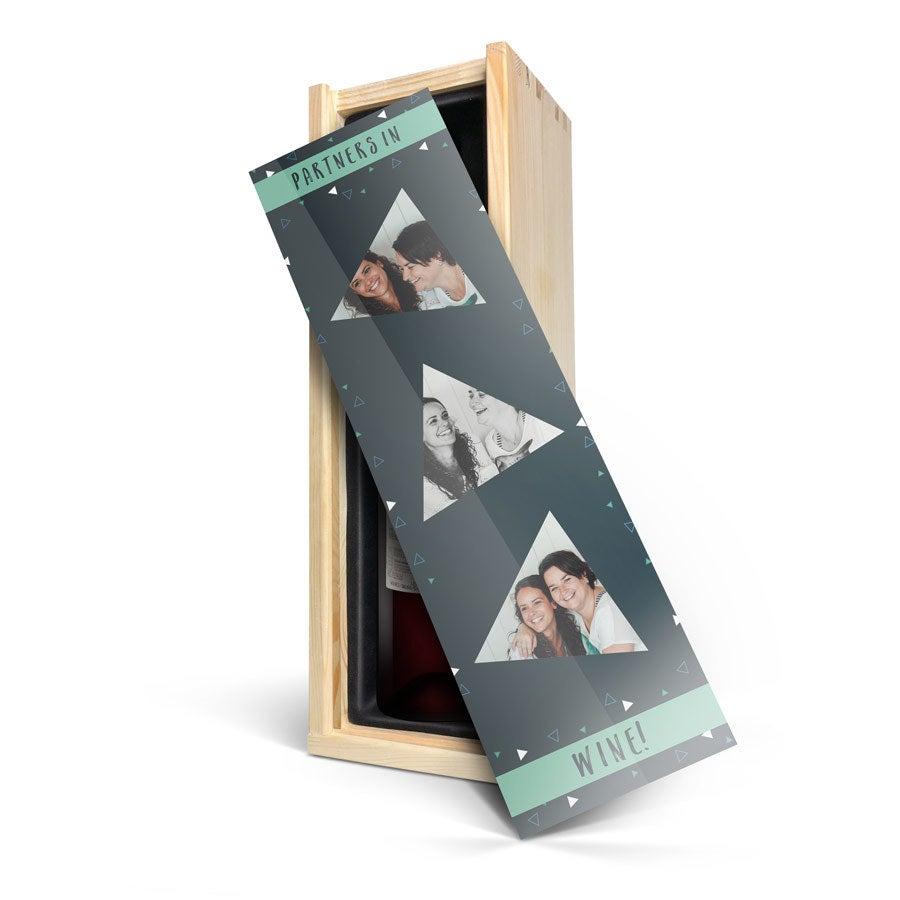 Salentein Merlot - Caja personalizada