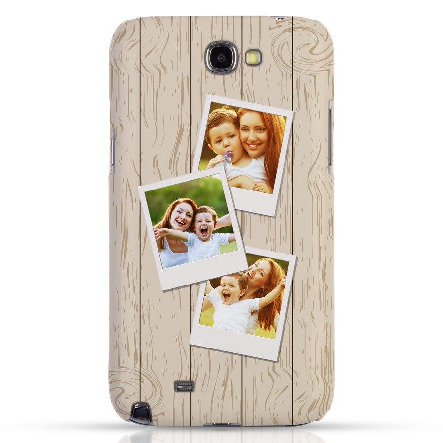 Smartphonehoesje - Samsung Galaxy Note 2 – Foto case rondom bedrukt