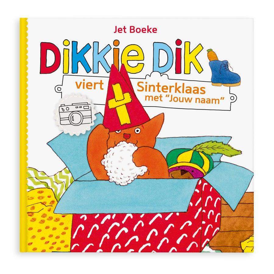Boek met naam Dikkie Dik viert Sinterklaas Softcover