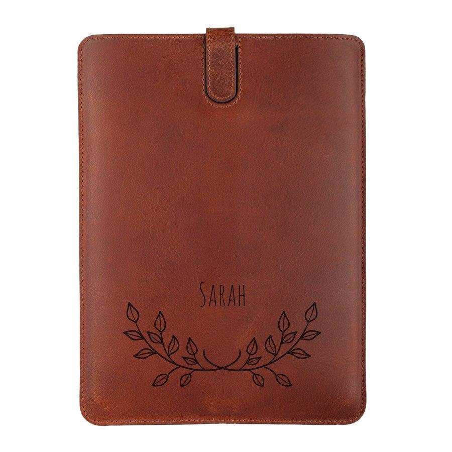 iPad Air -nahkakotelo - ruskea