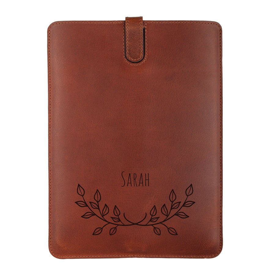 Kožený obal iPad Air - Hnedý