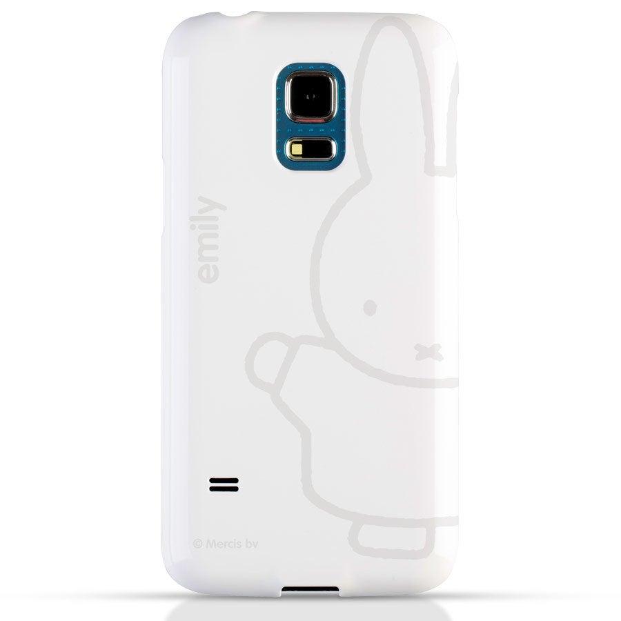 Telefoonhoesje - Samsung Galaxy S5 mini – 3D bedrukt - nijntje