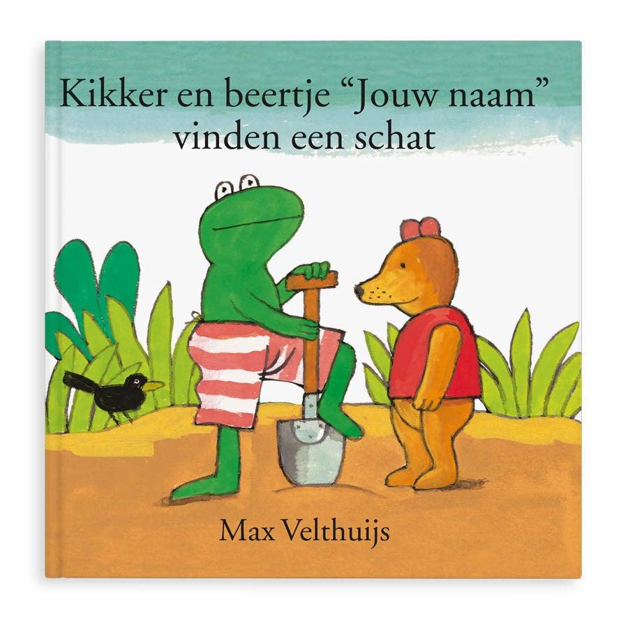 Boek met naam - Kikker en Beertje vinden een schat - Hardcover