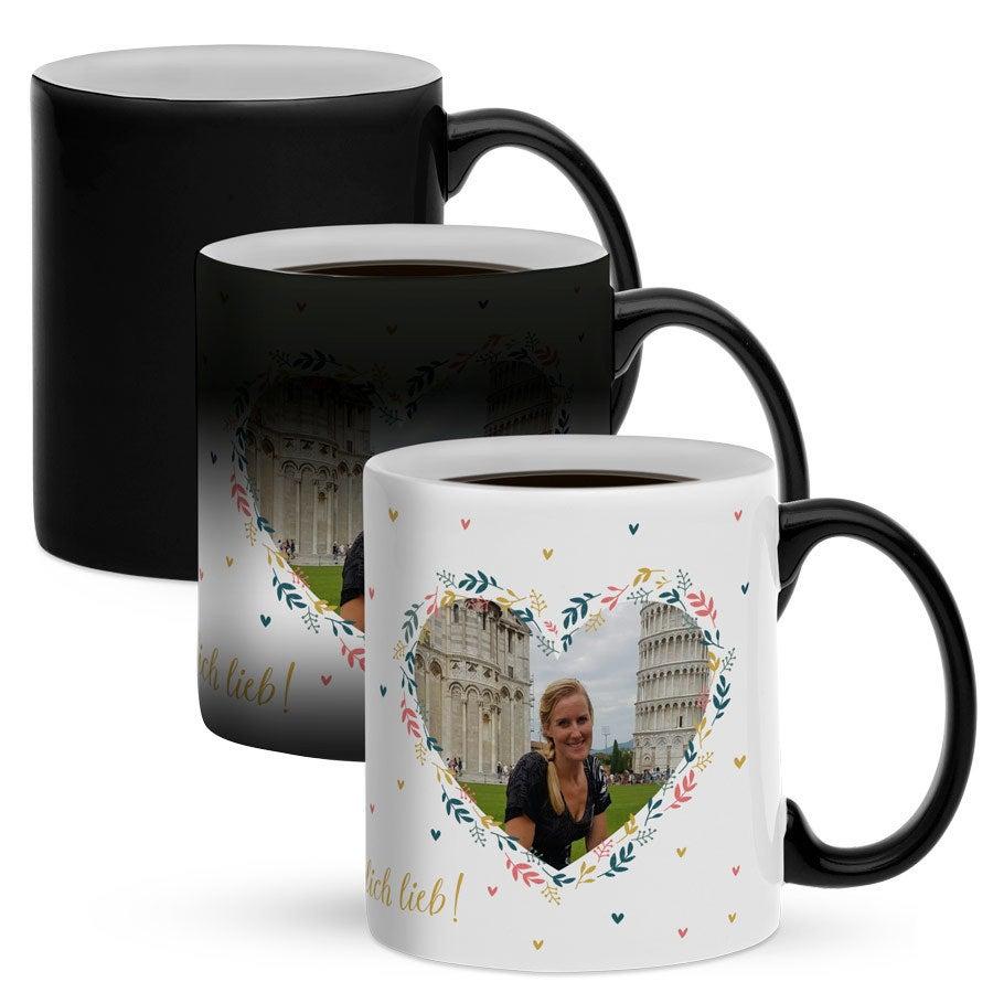 Individuellküchenzubehör - Tasse mit Foto Zaubertasse - Onlineshop YourSurprise