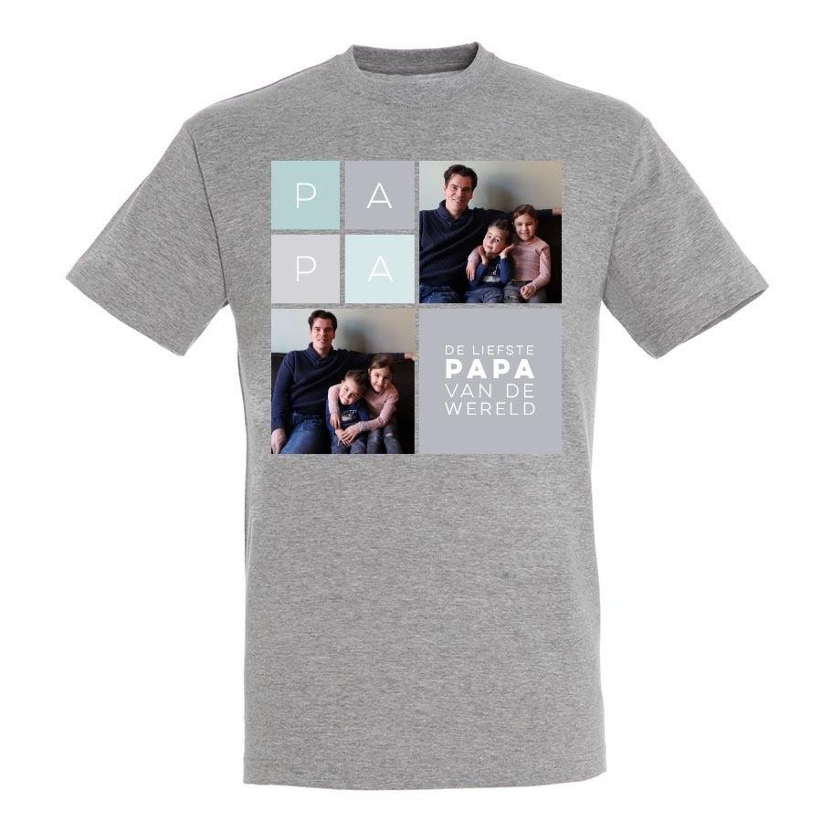 Vaderdag T-shirt - Grijs - S