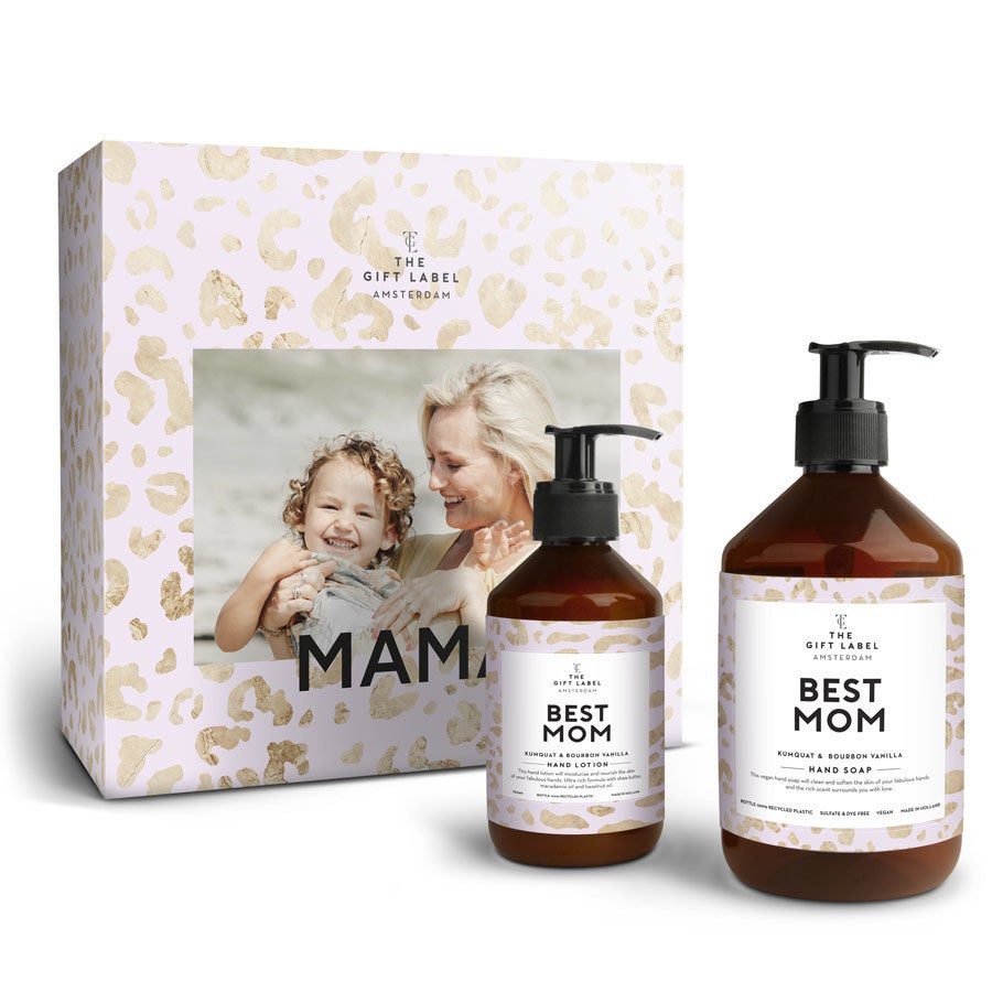 Individuellfotogeschenke - The Gift Label Geschenkset Best Mom - Onlineshop YourSurprise