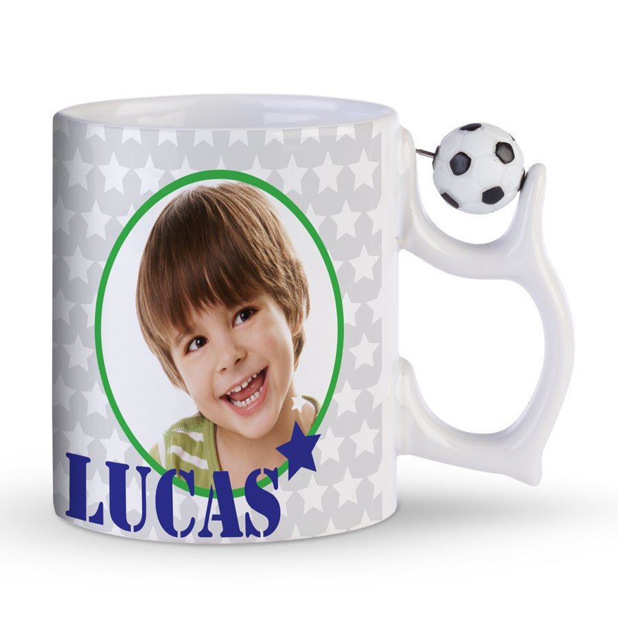 Tasse mit Foto - Fußball