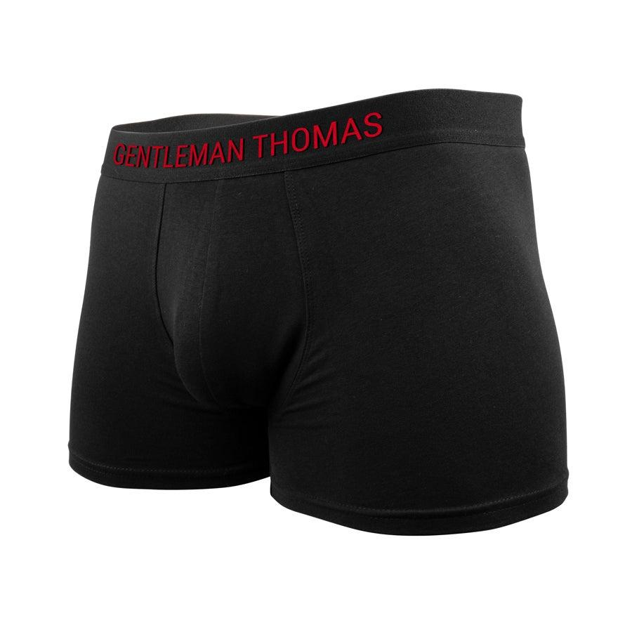Boxershort - Man maat M met naam