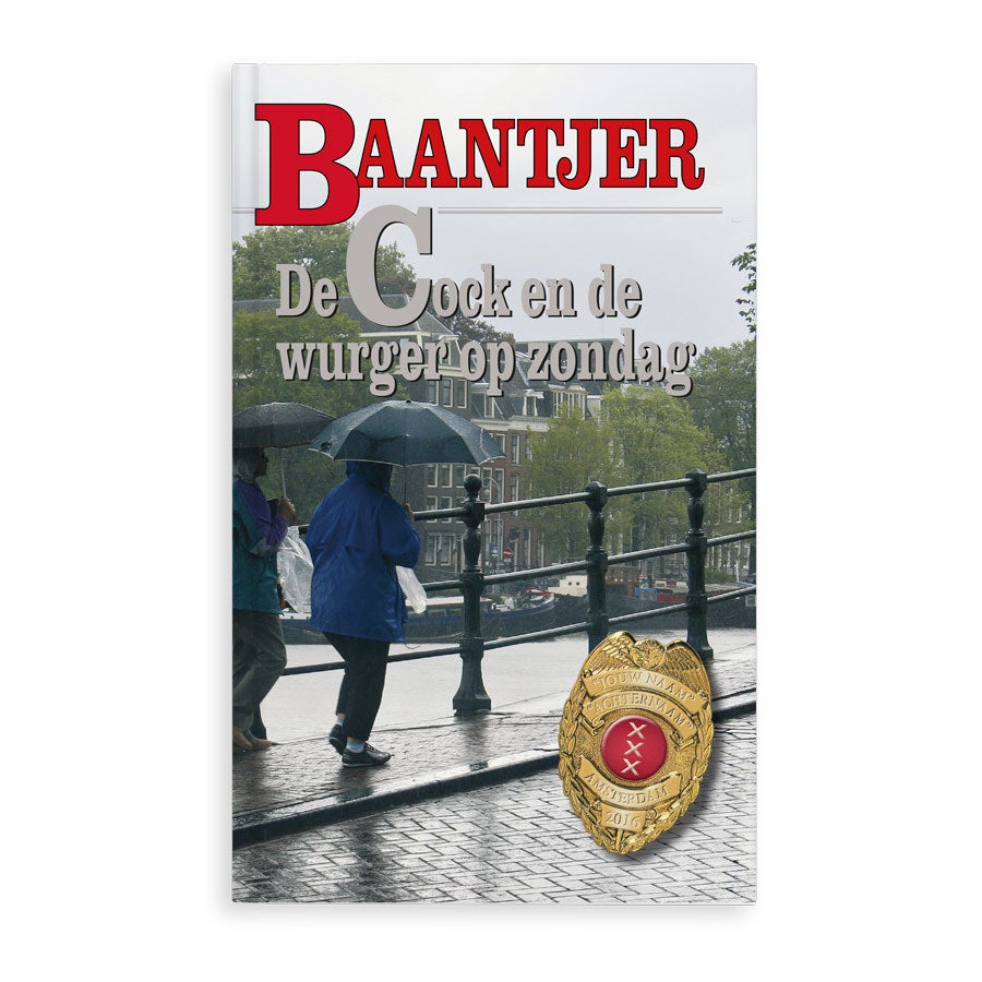 Boek met naam - Baantjer - Wurger op zondag - Softcover