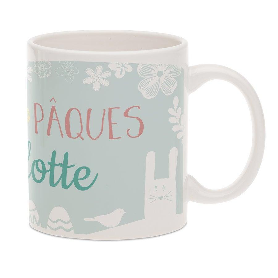 Mug Joyeuses Pâques - Avec texte
