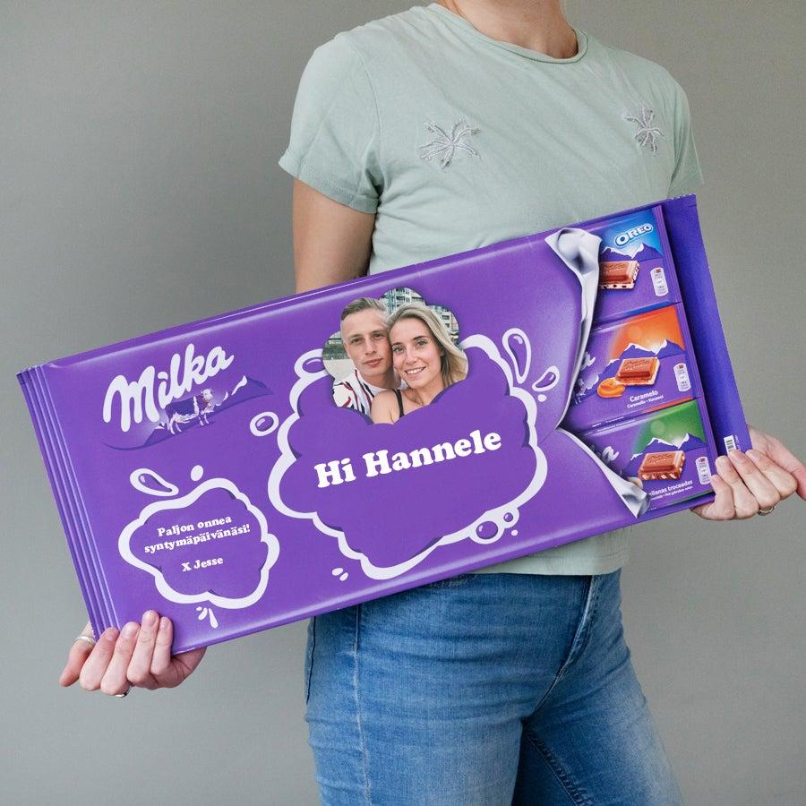 Jätti-Milka suklaalevy nimellä
