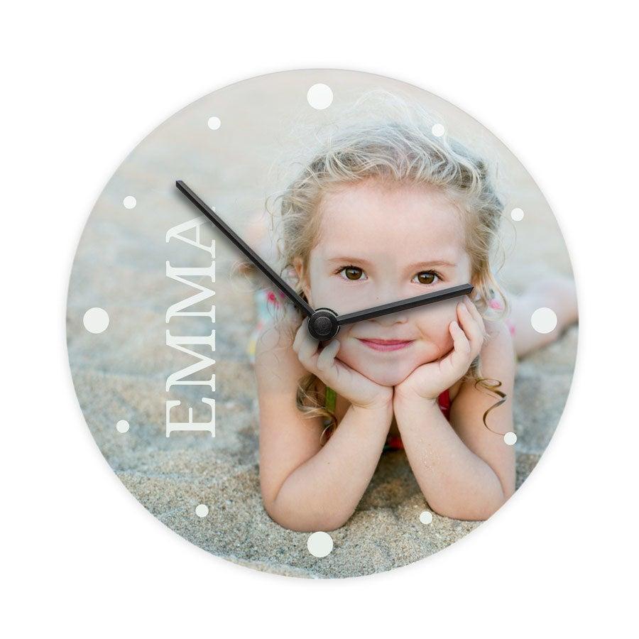 Zegar - Okrągły Mały (Szkło)