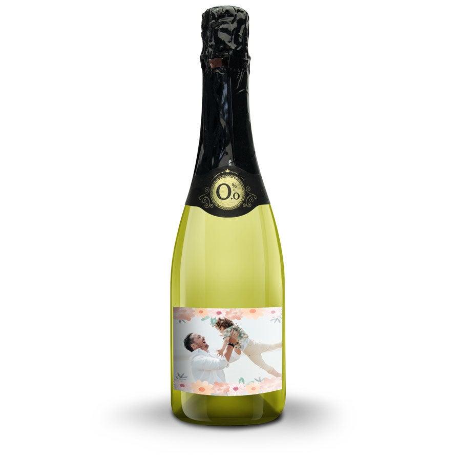 Vino con Etichetta Personalizzata  - Vintense Blanc Fines Bulles