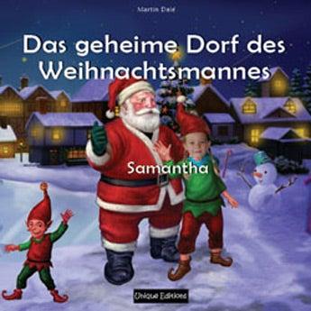 Buch mit Namen - Das geheime Dorf des Weihnachtsma