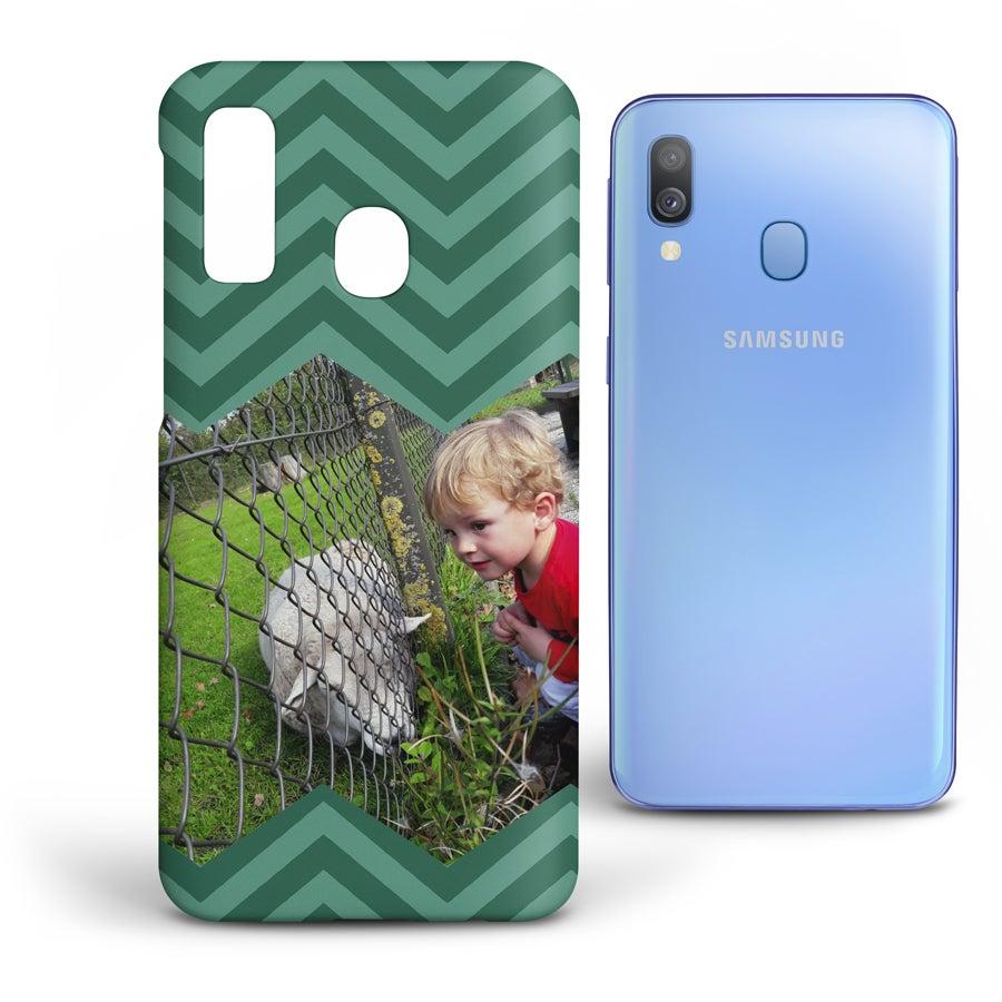 Personlig mobildeksel - Samsung Galaxy A40 - Heldekkende trykk