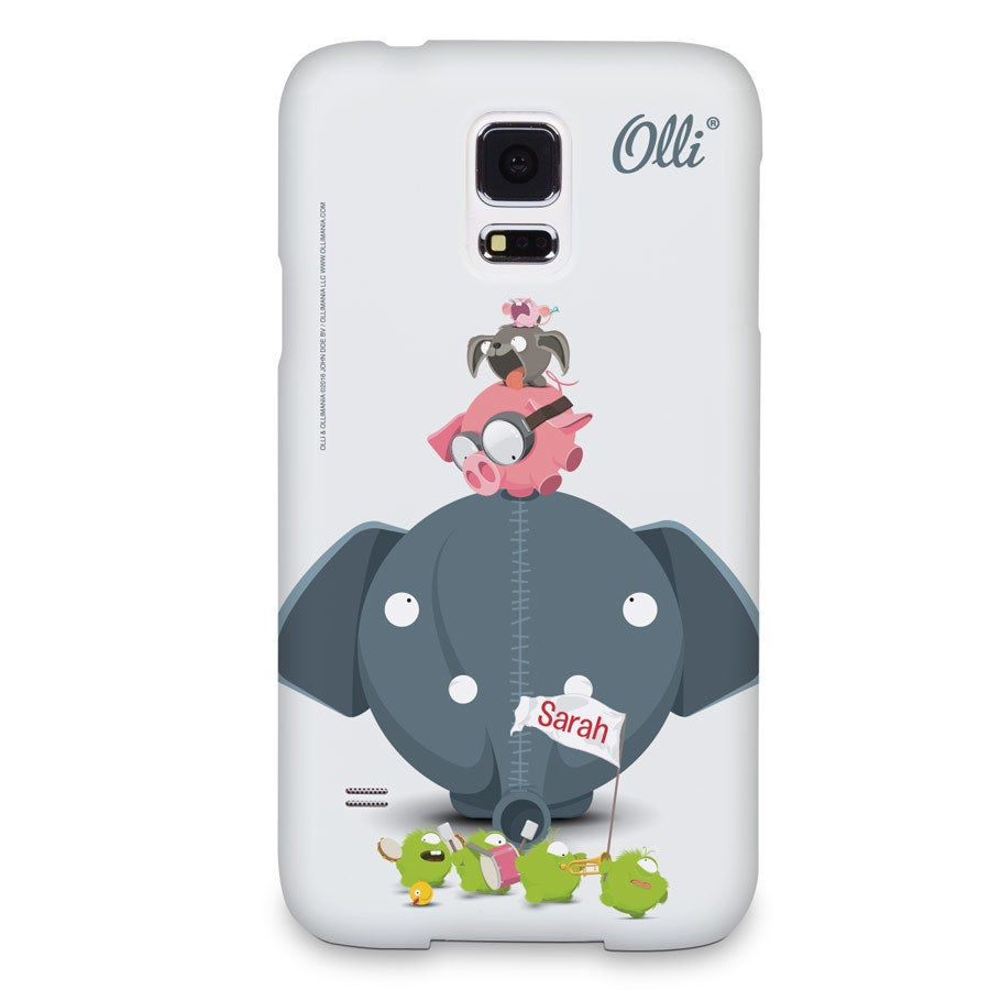 Ollimania - Samsung Galaxy s5 - foto cover 3D print