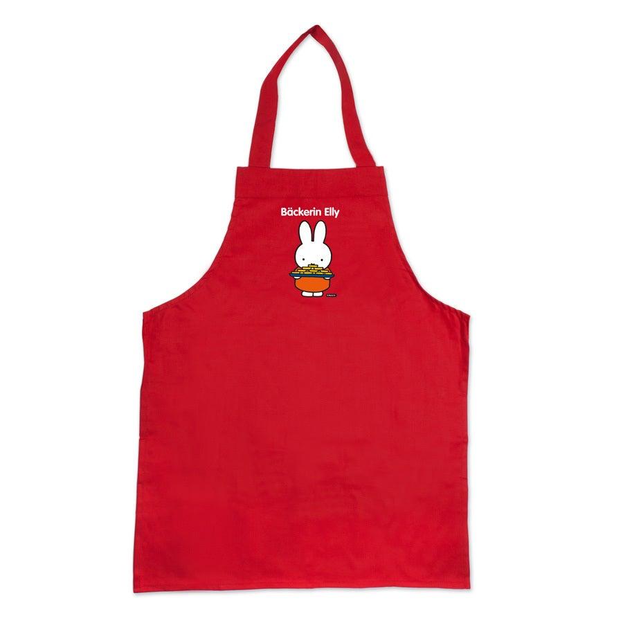Individuellbabykind - Miffy Kinderschürze Rot - Onlineshop YourSurprise