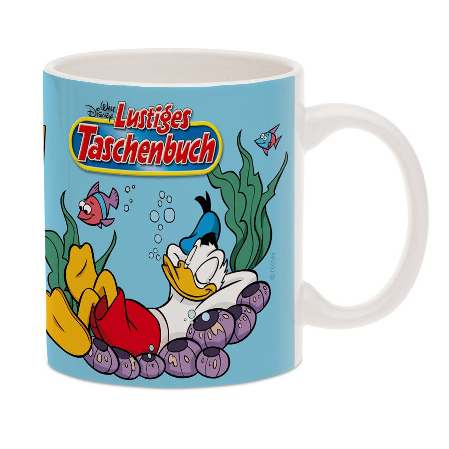 Disney Tasse Donald Duck mit Foto