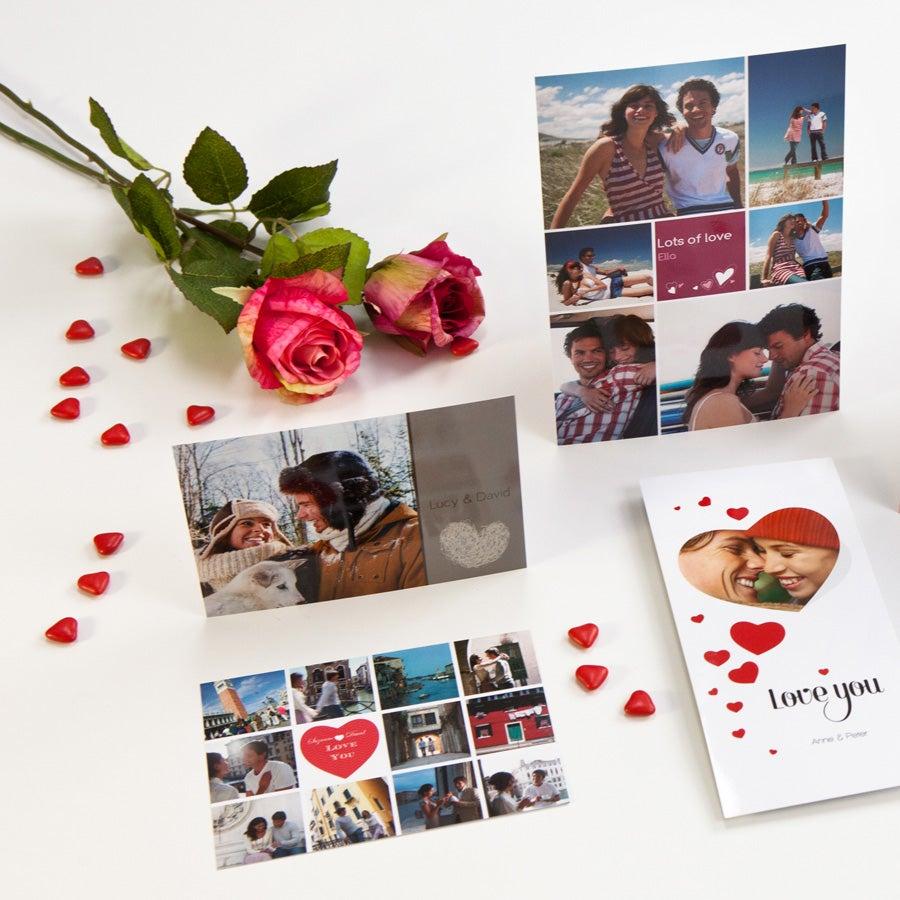 Valentijns fotokaart - Groot