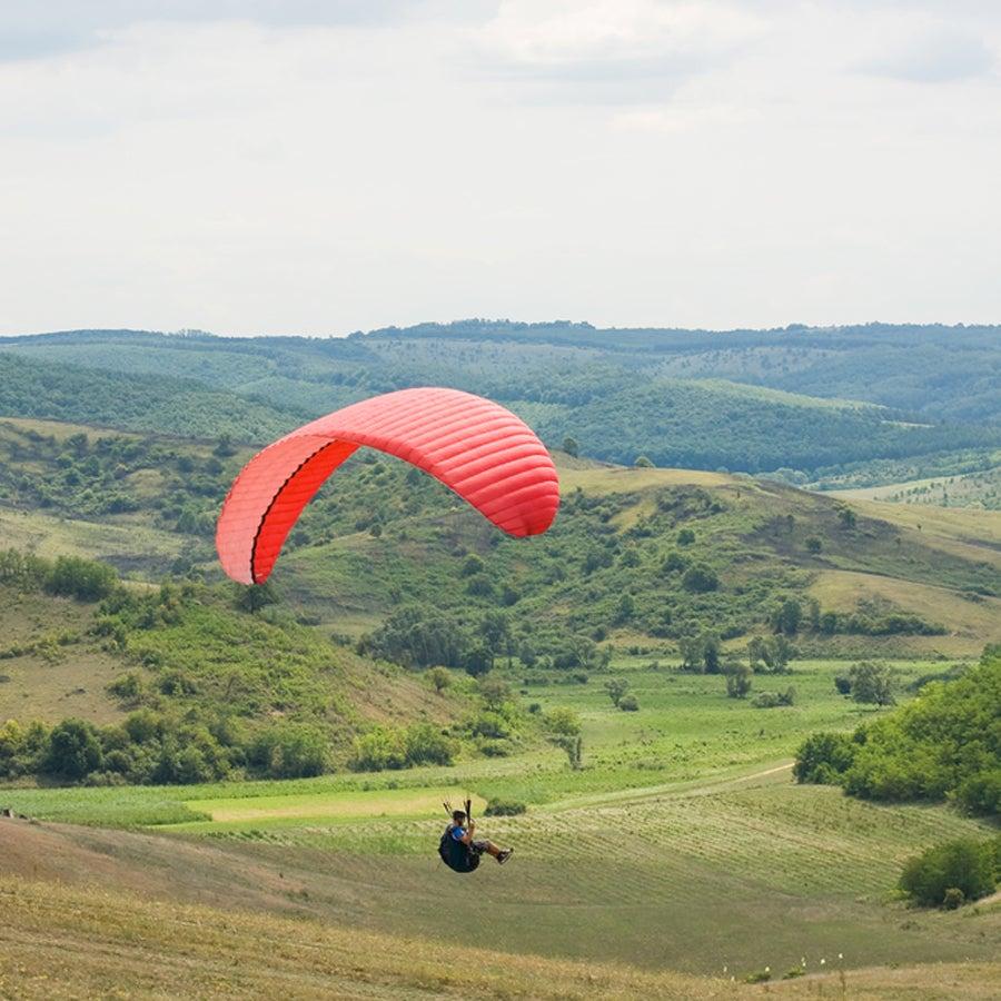Paragliden introductieweekend