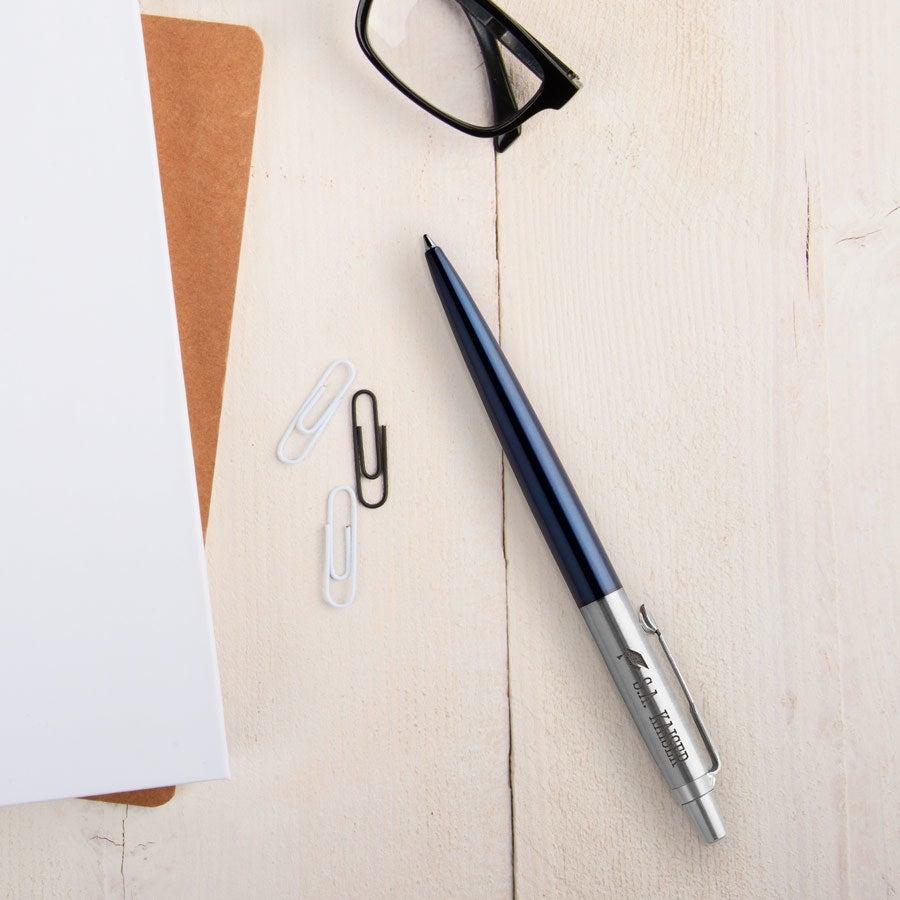 Individuellbesonders - Parker Jotter Kugelschreiber Rechtshänder (Blau) - Onlineshop YourSurprise