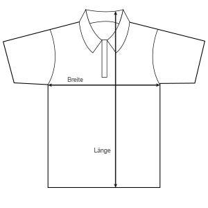 Größen Poloshirt