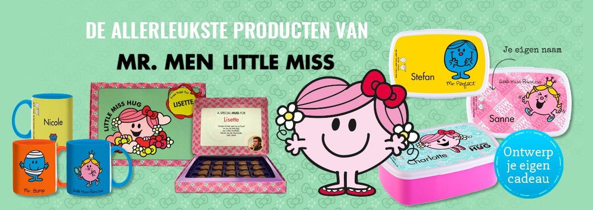 Little Miss en Mr Men